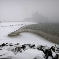 Rockaway Beach, January blizzard, Лауренс