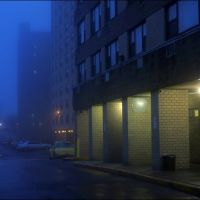 Blue foggy evening, Лауренс