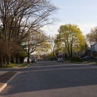 Street outside Cedarhurst Park, Лауренс