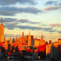 New York City Skyline Afternoon by Jeremiah Christopher, Лейк-Плэсид