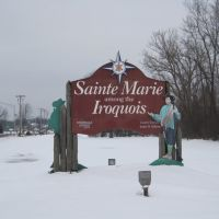 signage – Sainte Marie among the Iroquois, Ливерпуль