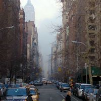 View up 5th. Ave. from Washington Sq., Линкурт
