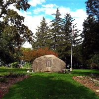 WW I Memorial in Outwater Park, Lockport, NY, Локпорт