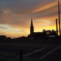 Church in the morning., Локпорт