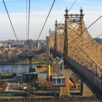 Roosevelt Island Tram & Queens Boro Bridge, Лонг-Айленд-Сити