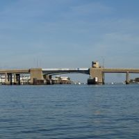 Long Beach Bridge over Reynolds Channel, Nassau County, New York, Лонг-Бич