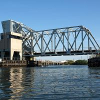 Long Island Railroad Bridge over Reynolds Channel, Nassau County, New York, Лонг-Бич