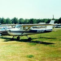 1966 Cessna 152M Aerobat N1914F at Dutchess County Airport, Poughkeepsie, NY, Майерс-Корнер