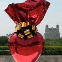 Sacred Heart, Jeff Koons, Kunst auf dem Dach des Metropolitan Museums of Art, New York, Манхаттан