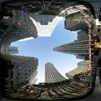 Rockefeller Center - Looking Up, Манхаттан