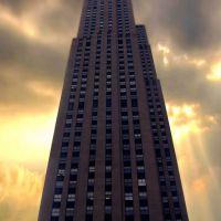 GE Building Rockfeller Center, Манхаттан
