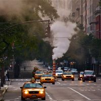 Steam Escape, Fifth Avenue, Манхаттан