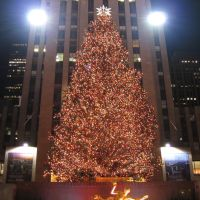 Christmas Tree at Rockefeller Center [007657], Манхаттан