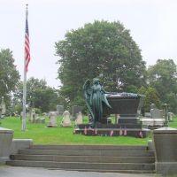 President Chester Arthurs Gravesite., Менандс