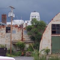 Quonset Hut Warehouses in Menands - Taken out by hazmat crew 2007, Менандс
