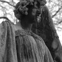 Mourning Statue, Albany Rural Cemetary, Менандс
