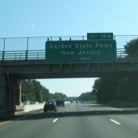 Garden State Pkwy ahead, Монси