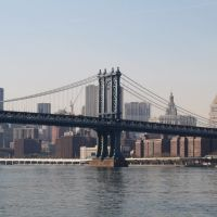Manhattan Bridge, Manhattan., Нискаюна