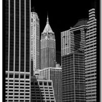 Wall Street from the East River, Норт-Сиракус