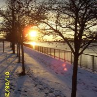 Sunset on the Niagara River, Норт-Тонаванда