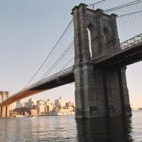 Brooklyn bridge, Нью-Йорк