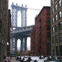 dumbo (view of manhattan bridge), Нью-Йорк