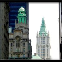 Woolworth building - New York - NY, Нью-Йорк