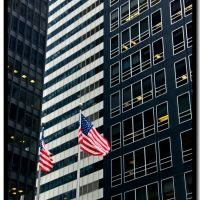 Wall Street: Stars and Stripes, stripes & $, Нью-Йорк