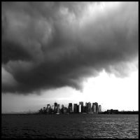 before the storm. NYC, Нью-Йорк