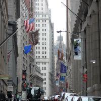 Wall Street, Нью-Йорк