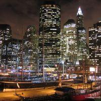 South Street Seaport and Financial Center skyline [007783], Нью-Йорк
