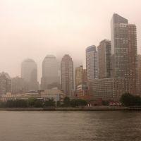 Foggy morning in Manhattan, Нью-Йорк-Миллс