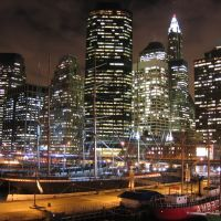 South Street Seaport and Financial Center skyline [007783], Нью-Йорк-Миллс