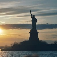 Statue Of Liberty Sunset - KMF, Нью-Рочелл