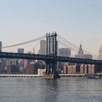 Manhattan Bridge, Manhattan., Нью-Рочелл
