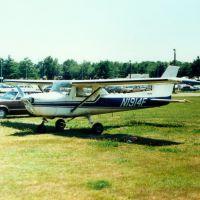 1966 Cessna 152M Aerobat N1914F at Dutchess County Airport, Poughkeepsie, NY, Нью-Хакенсак