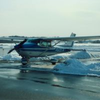 1974 Cessna 182P N52974 at Dutchess County Airport, Poughkeepsie, NY, Нью-Хакенсак