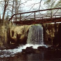 Greens Pond Waterfall, Нью-Хакенсак