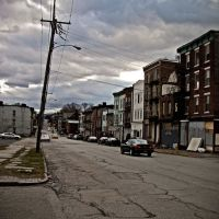 Liberty Street near Washingtons  Headquarters, Ньюбург