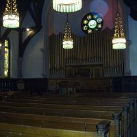 Willard Chapel - toward pulpit, Оберн