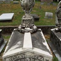 William Sewards grave, Оберн