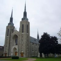 St. Marys Cathedral, just one of many beautiful churches in Ogdensburg, Огденсбург