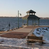 St Lawrence waterfront- Dobisky Center gazebo 1, Огденсбург