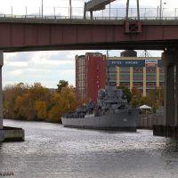 USS Slater (DE-766) moored in Albany NY, Олбани