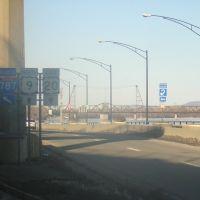 I-787 Entrance, 2-17-2009, Олбани