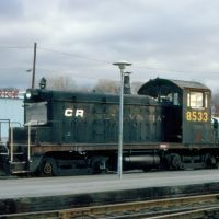Conrail EMD SW1 No. 8533 at Rensselaer, NY, Олбани