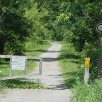Bicycle trail Oriskany NY, Орискани