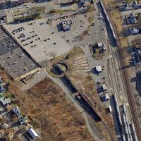Railroad Turntable at Port Jervis NY, Порт-Джервис