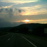 A welcoming PA sunset, Порт-Джервис