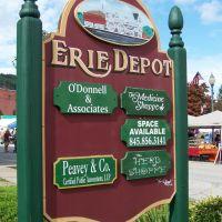 ERIE Depot Shops Port Jervis, NY, Порт-Джервис
